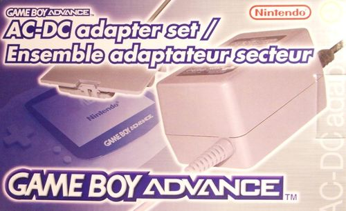 Gameboy Advance AC-DC Adapter