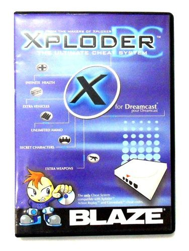 Xploder Cheat System for Dreamcast (PAL)