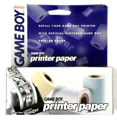 Nintendo Gameboy Printer Paper