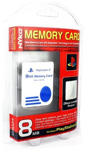 PS2 Memory Card 8MB (weiss)
