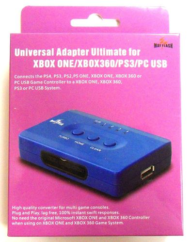 Universal Adapter Ultimate XBOX One/XBOX360/PS3/PC
