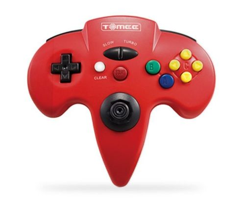 Tomee N64 Controller (rot)
