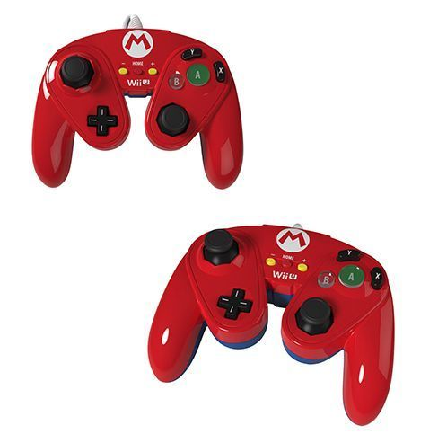 "Wii/Wii U Controller Fight Pad ""Mario"" PDP"
