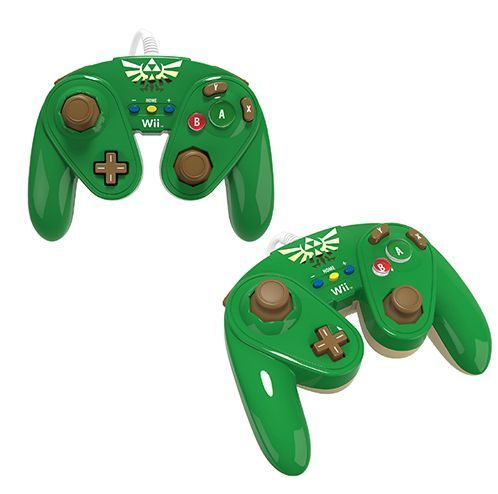 "Wii/Wii U Controller Fight Pad ""Link"" PDP"