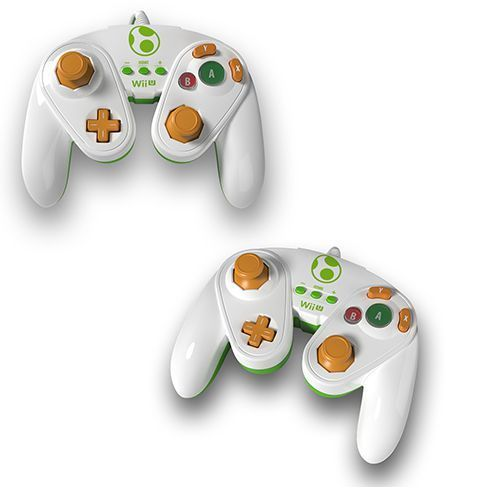 "Wii/Wii U Controller Fight Pad ""Yoshi"" PDP"
