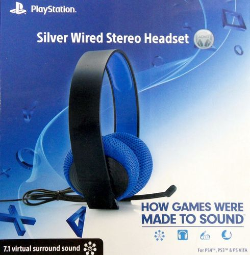 Sony Playstation Headset PS3 PS4 (kabelgebunden)