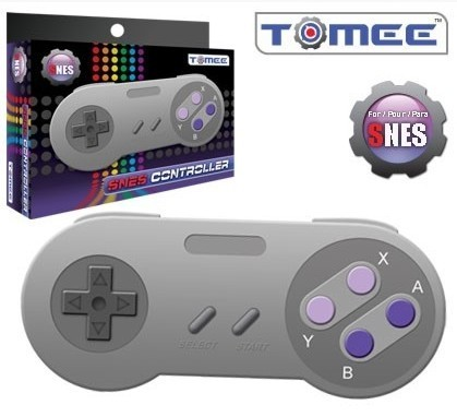 Tomee Controller (SNES Style)