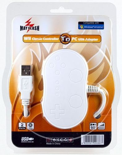 Wii Classic Controller auf USB Adapter
