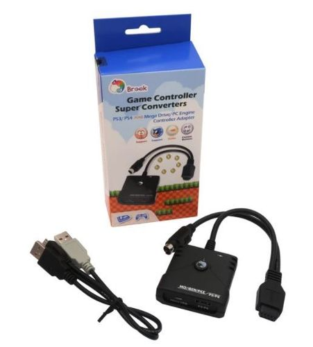 Brook PS3/PS4 TO Megadrive/Pc Engine Super Converter